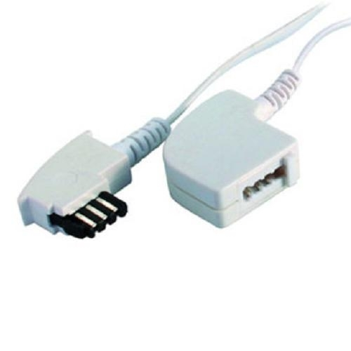 telefonverl ngerung wei 6 m tae f stecker f buchse kabel kupplung ebay. Black Bedroom Furniture Sets. Home Design Ideas