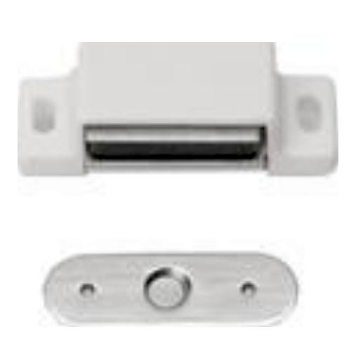 magnetschn pper 3 kg wei t r magnet schnapper t rschnapper m bel schnapper ebay. Black Bedroom Furniture Sets. Home Design Ideas