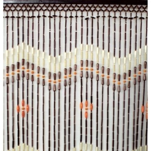 perlenvorhang hanoi holz perlen 100x200 cm bambus t rvorhang bambusvorhang ebay. Black Bedroom Furniture Sets. Home Design Ideas