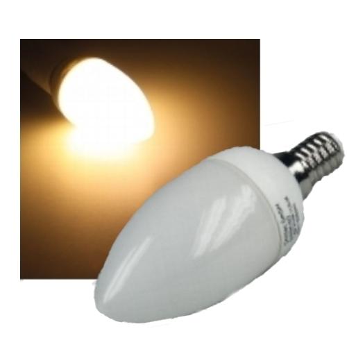led kerzenlampe e14 2 w wie 20 w 24 leds warmwei. Black Bedroom Furniture Sets. Home Design Ideas