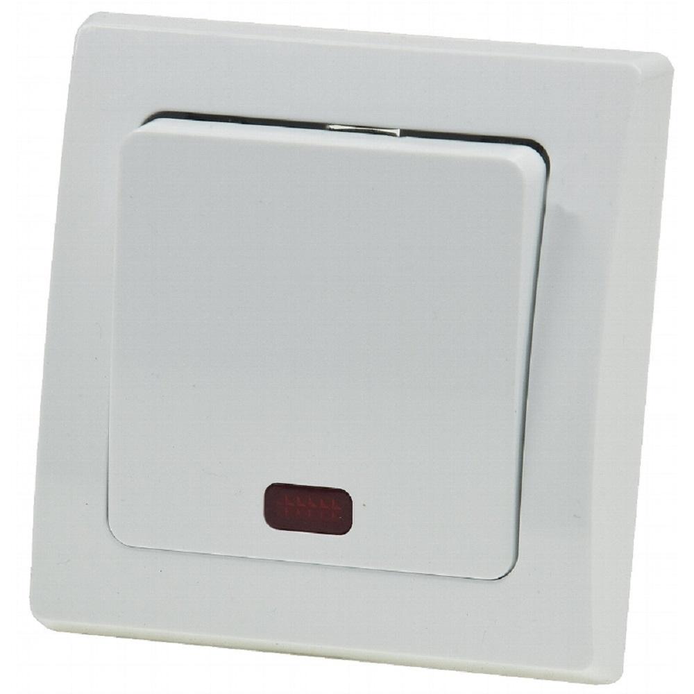 delphi kontroll schalter up wei l mpchen inkl rahmen. Black Bedroom Furniture Sets. Home Design Ideas