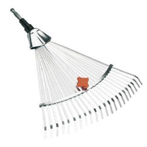 gardena verstell besen 3103 20 garten laub rechen harke gras unkraut ebay. Black Bedroom Furniture Sets. Home Design Ideas
