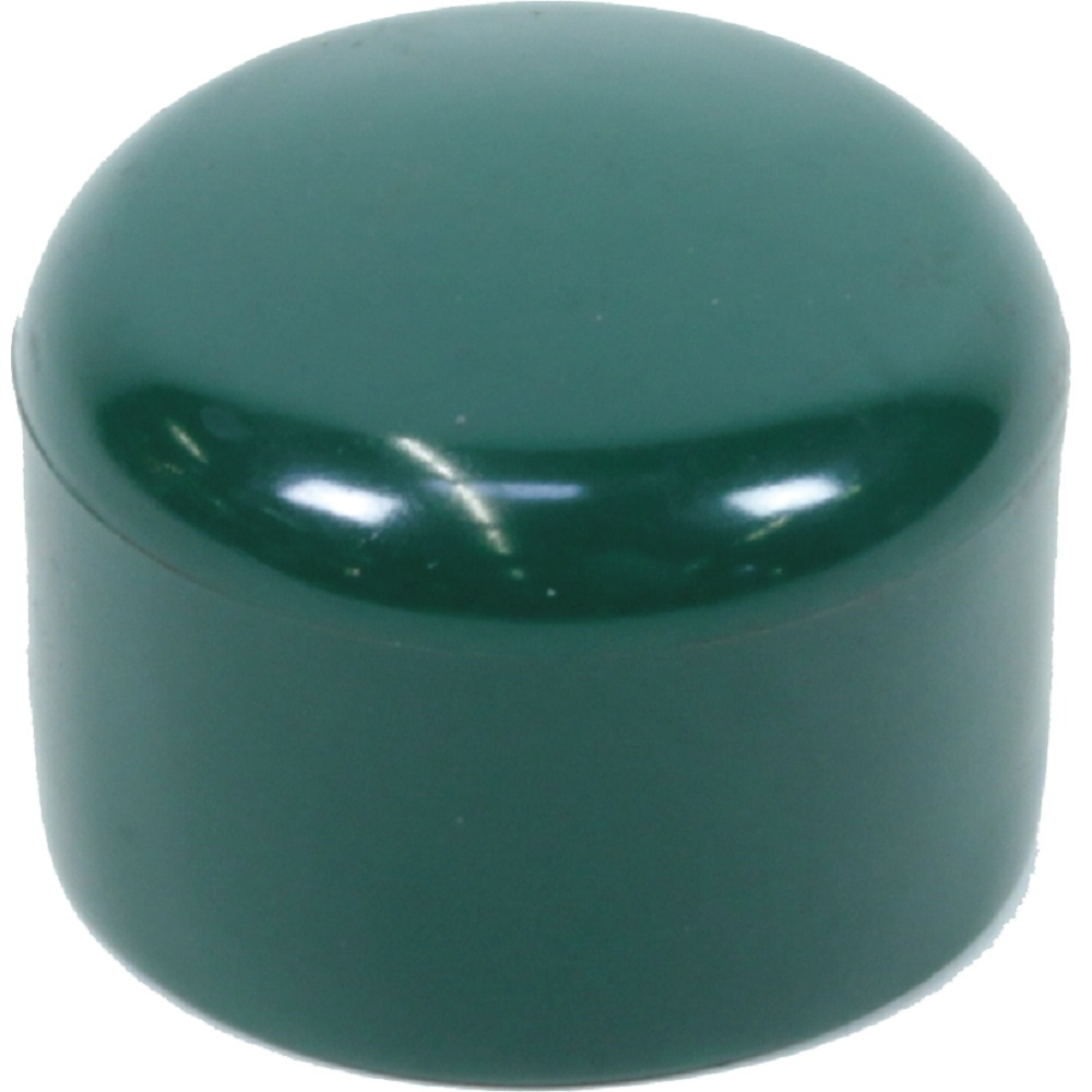 zaun pfahl kappe kunststoff gr n 42 43 mm pfosten kappe abdeckung ebay. Black Bedroom Furniture Sets. Home Design Ideas
