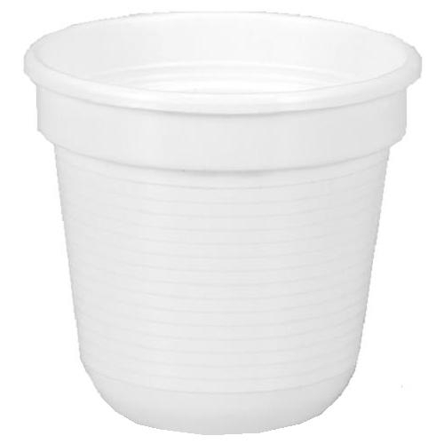 Geli basic blumentopf kunststoff 14 cm wei pflanztopf for Blumentopf plastik