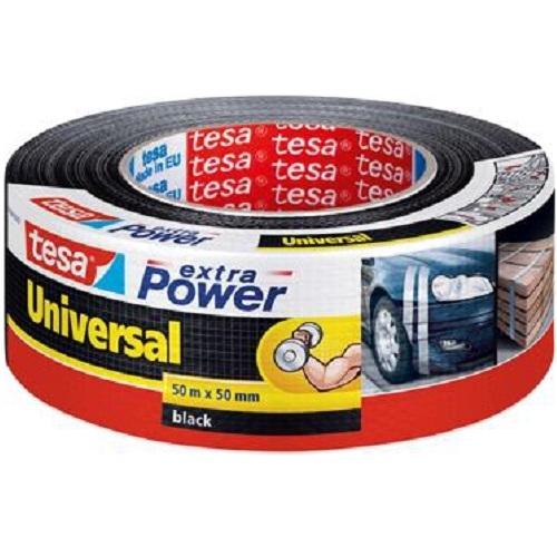 tesa gewebeband extra power 56389 50 m x 50 mm schwarz reparaturband tape ebay. Black Bedroom Furniture Sets. Home Design Ideas