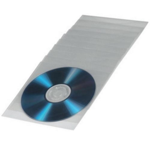 hama cd dvd h llen 75 st ck transparent pp h lle oben offen leerh lle ebay. Black Bedroom Furniture Sets. Home Design Ideas