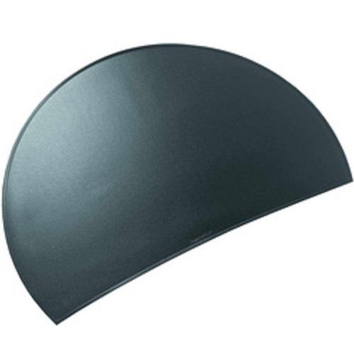 l ufer schreibunterlage durella rondo schwarz halbrunde unterlage schreibtisch ebay. Black Bedroom Furniture Sets. Home Design Ideas