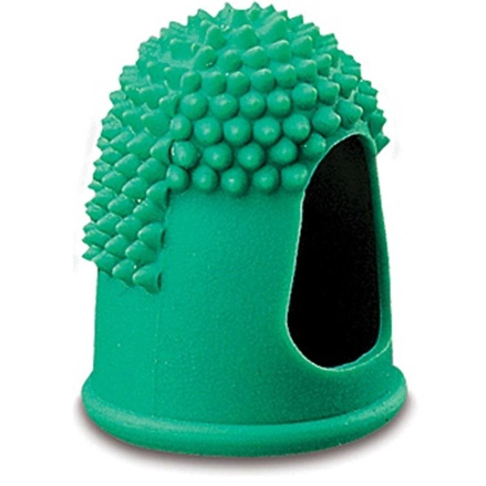 Läufer Blattwender, Gr 4, 19 mm, grün, Gummifinger, Zählfinger, Fingerhut