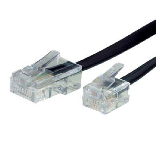 telefon kabel rj45 rj11 stecker 3 m dsl ntba splitter. Black Bedroom Furniture Sets. Home Design Ideas