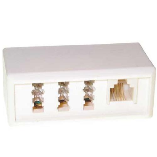 telefonadapter tae f stecker tae nfn buchse rj11 verteiler kupplung ebay. Black Bedroom Furniture Sets. Home Design Ideas