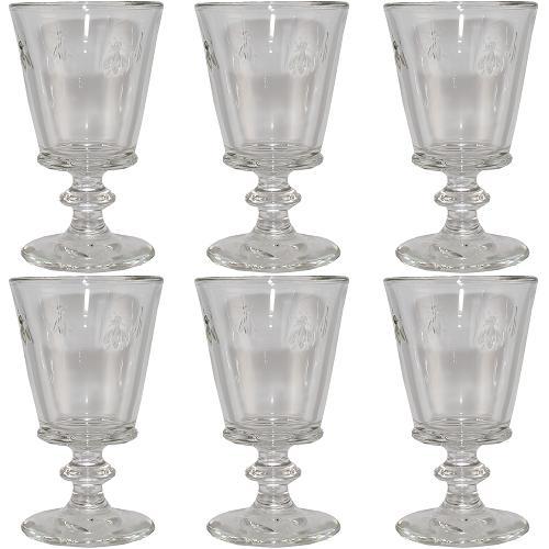 la rochere wein kelch biene 240 ml 6 st ck wein glas wein gl ser abeille ebay. Black Bedroom Furniture Sets. Home Design Ideas
