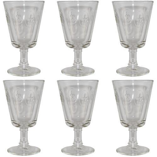 la rochere wein kelch lilie 240 ml 6 st ck wein glas wein gl ser lilienbl te ebay. Black Bedroom Furniture Sets. Home Design Ideas