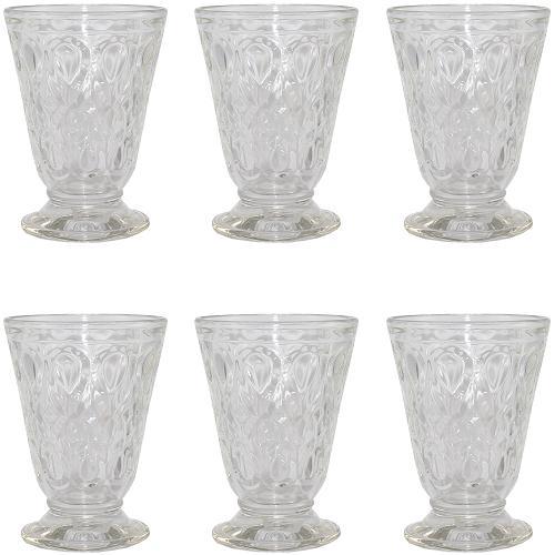 la rochere wasser kelch lyonnais 200 ml 6 st ck wasser glas wasser gl ser ebay. Black Bedroom Furniture Sets. Home Design Ideas