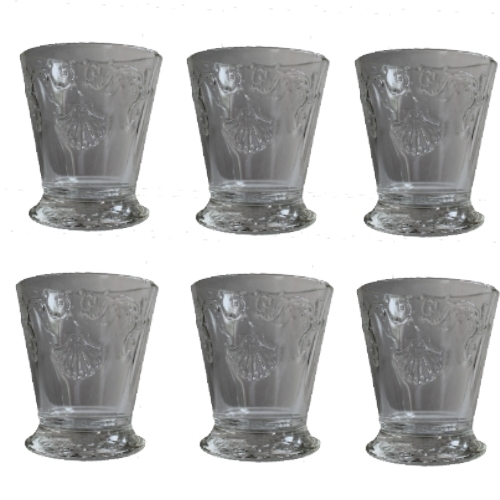 la rochere saft becher versailles 250 ml 6 st ck wasser glas wasser gl ser. Black Bedroom Furniture Sets. Home Design Ideas