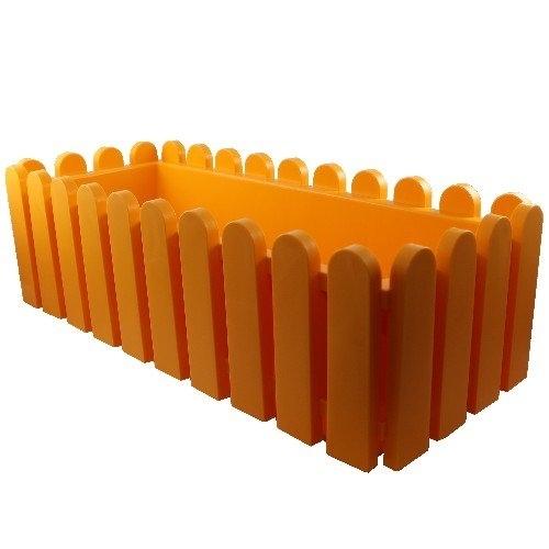 emsa blumenkasten landhaus 50x20x16 cm mandarine ebay. Black Bedroom Furniture Sets. Home Design Ideas