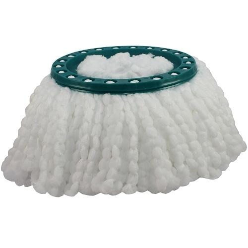 leifheit clean twist system mop ersatzkopf 52020 microfaser wischmop ebay. Black Bedroom Furniture Sets. Home Design Ideas