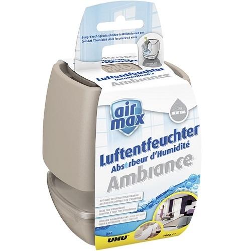 UHU Luftentfeuchter Air Max Ambiance, 100 g, sand, Raumluftentfeuchter