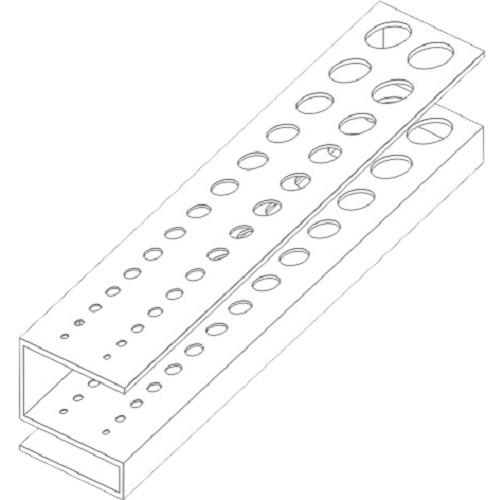 Dolle Bohrerleiste, 28fach, weiß, 188x40x40 mm, Bohrerhalter, Bohrerständer