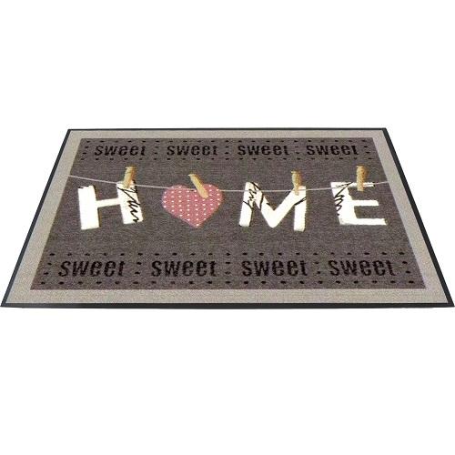 homestyle fu matte sweet home 75x45 cm fu abtreter. Black Bedroom Furniture Sets. Home Design Ideas