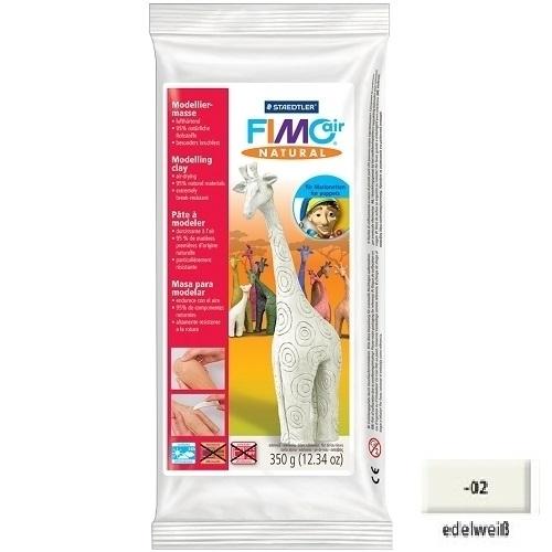 Fimo-air-Natural-Modelliermasse-edelweiss-350-g-Knetmasse-Bastelknete-Ton