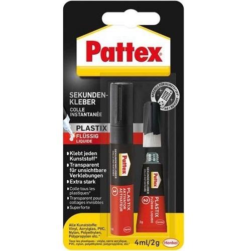 pattex sekundenkleber plastik fl ssig 2 g alleskleber 2 komponenten kleber ebay. Black Bedroom Furniture Sets. Home Design Ideas