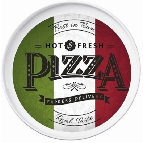 Gro er pizzateller gourmet hot fresh 30 cm pizza teller for Rosenthal home designs bianchi