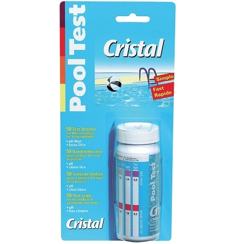 cristal pooltest 288027 teststreifen ph tester pool tester chlor tester ebay. Black Bedroom Furniture Sets. Home Design Ideas