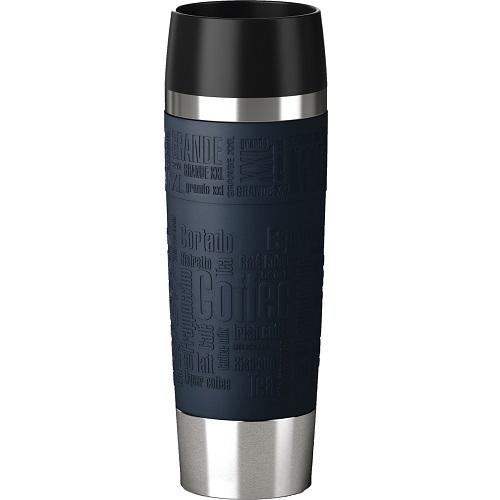 emsa isolierbecher travel mug grande 500 ml blau
