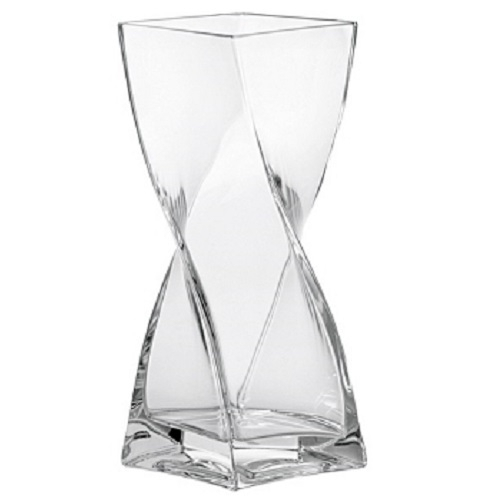 leonardo vase swirl glas gedreht 20 cm blumenvase tischvase glasvase dekovase ebay. Black Bedroom Furniture Sets. Home Design Ideas