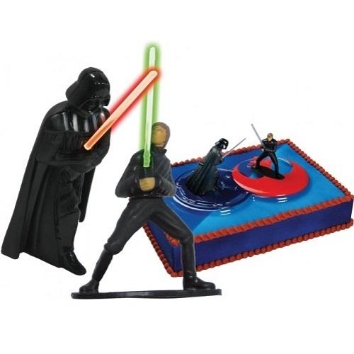 dekoback star wars tortendeko luke skywalker darth vader. Black Bedroom Furniture Sets. Home Design Ideas