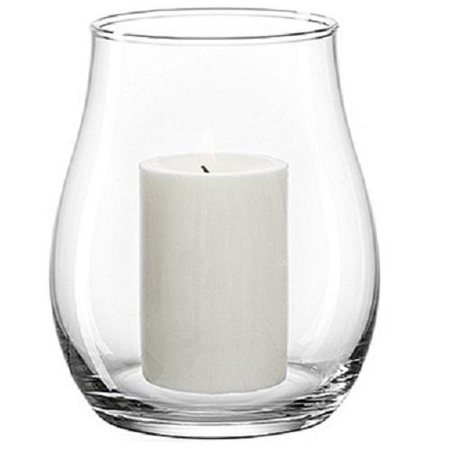leonardo glas windlicht giardino 27 cm hoch kerzenhalter kerzenst nder kerze ebay. Black Bedroom Furniture Sets. Home Design Ideas