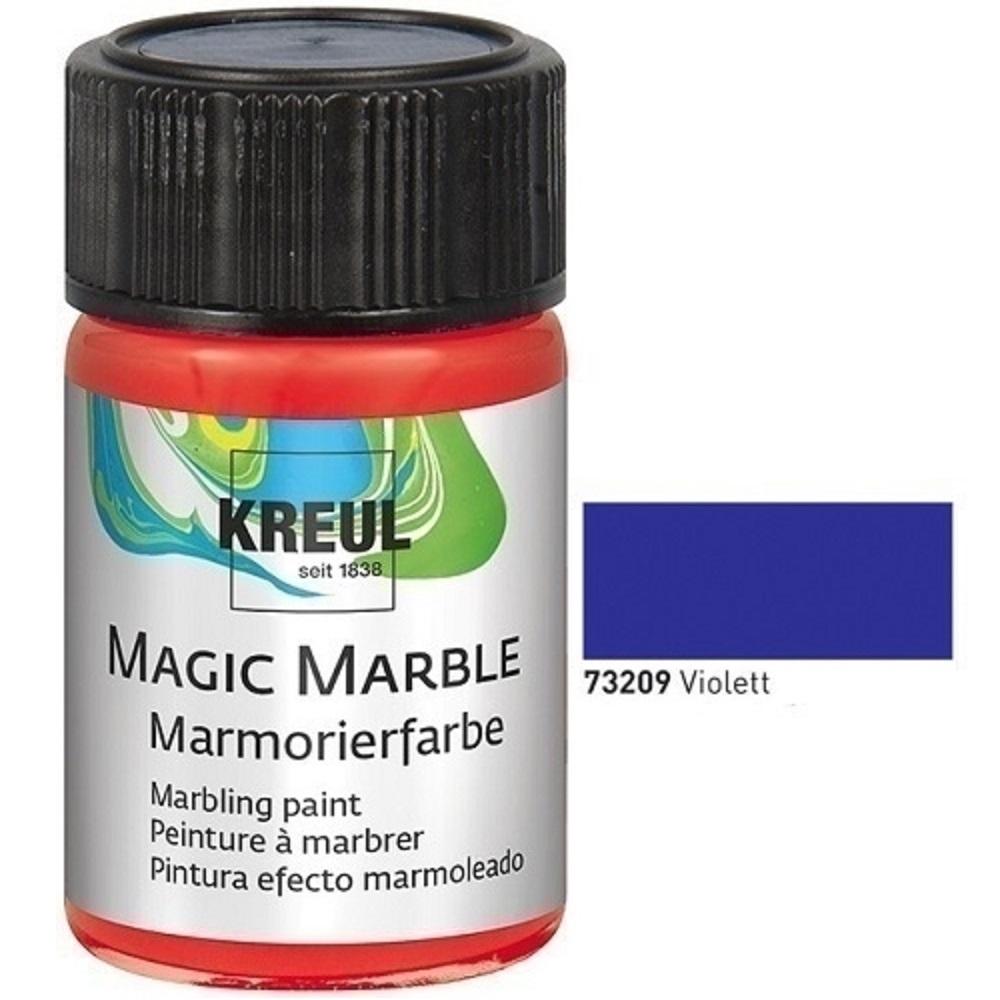 kreul marmorierfarbe magic marble 20 ml violett. Black Bedroom Furniture Sets. Home Design Ideas